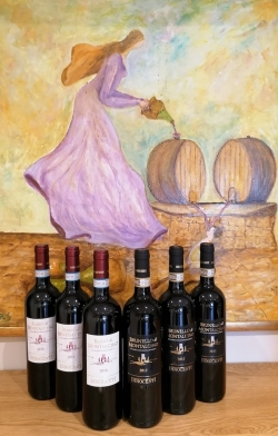Option 18 - Brunello and Rosso di Montalcino (6 bottles)